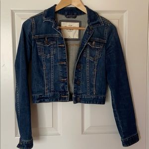Abercrombie &Fitch cropped denim jacket